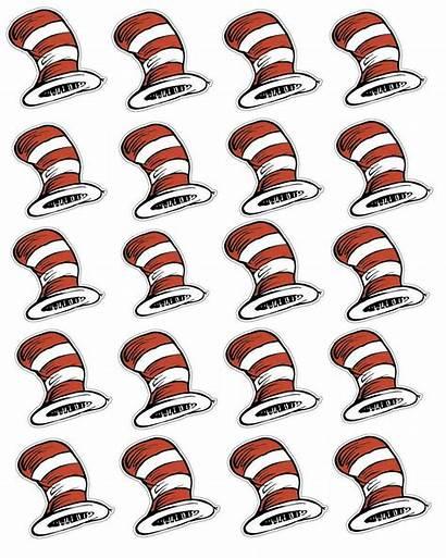 Seuss Dr Clip Printable Clipart Hat Party