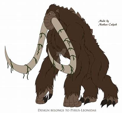 Behemoth Titanus Pyrus Leonidas Deviantart Monsterverse Titans