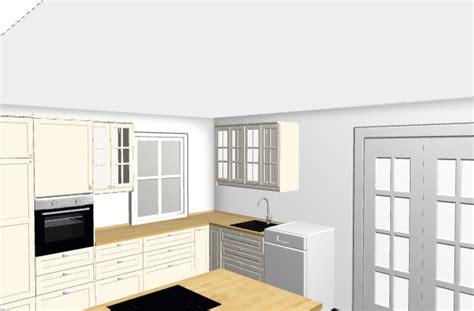 Ikea Küchenplaner Ansicht Drehen by Ikea K 252 Che In Bodbyn Elfenbeinwei 223 Unser Holzhaus