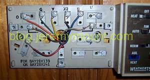 Trane Weathertron Heat Pump Thermostat Wiring Diagram