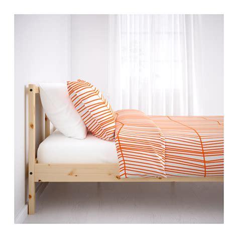 fjellse bed frame fjellse bed frame pine leirsund standard ikea