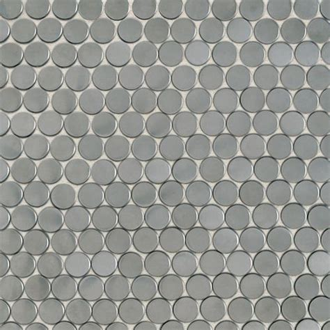 dal tile stainless rounds tile