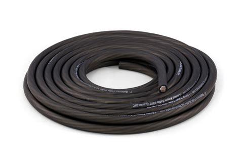 black wire ground kolossus fleks kable 4 black power ground wire