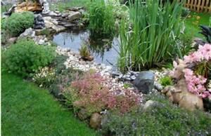 Kleiner Gartenteich Anlegen : pflanzen um und im gartenteich und teich ~ Michelbontemps.com Haus und Dekorationen