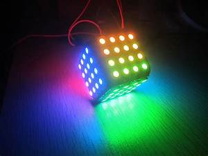 WS2812B LED Cube 96 for arduino colorful magic from Smart ...