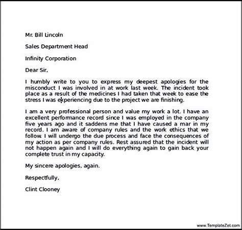 Resume Draft Sle by Apology Letter For Mistake To Boyfriend Sle Letter To