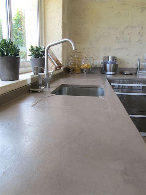béton ciré cuisine plan de travail cuisine beton cire avis ciabiz com