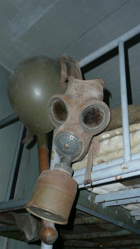 gas mask changed  time