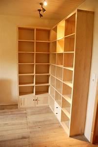 Bibliothèque D Angle Ikea : biblioth que d 39 angle contemporaine en fr ne massif ~ Melissatoandfro.com Idées de Décoration