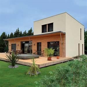 Maison En Bois Construction : rielcy maison ossature bois bioclimatique par nature et bois construction la maison bois par ~ Melissatoandfro.com Idées de Décoration