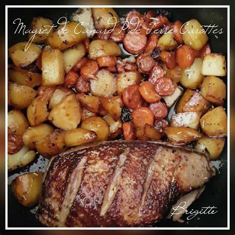 cuisiner du magret de canard magret de canard p de terre et carottes recettes cookeo