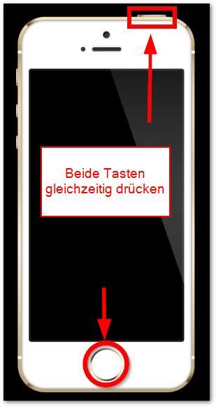 how to screenshot on iphone 5c iphone 5s und 5c screenshot erstellen anleitung techfrage how t