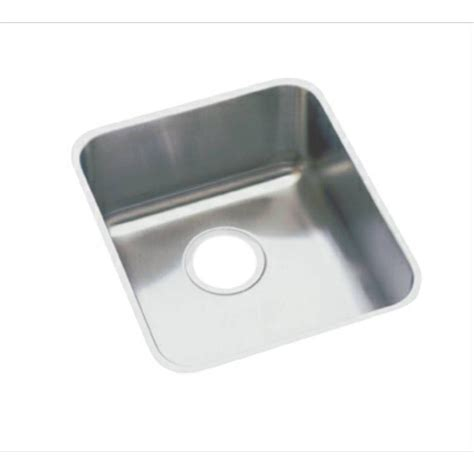 elkay undermount kitchen sinks elkay lustertone undermount stainless steel 16 in single 7052