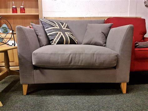 Cheap Settees by Debenhams Farringdon Grey Snuggler Loveseat Only 163 399