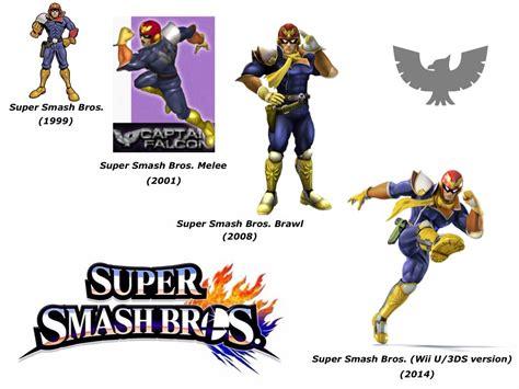 Super Smash Bros Melee Wallpaper Captain Falcon Super Smash Bros Evolution By Delvallejoel On Deviantart