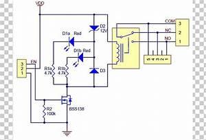 Relay Wiring Diagram Schematic Circuit Diagram Arduino Png