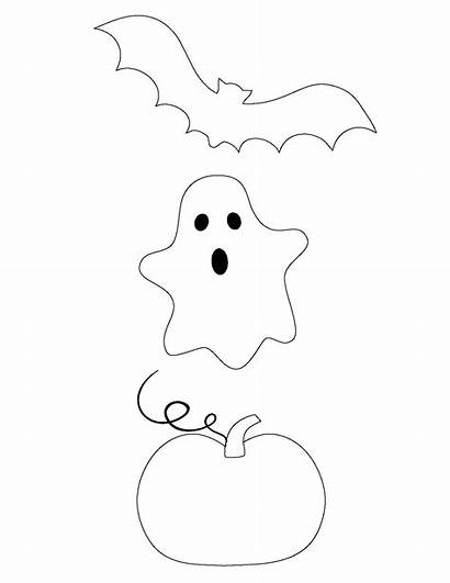 Halloween Ghost Bat Pumpkin String Diy Trio