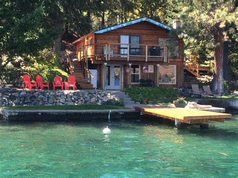 waterfront cabin rentals in low bank waterfront cabin on lake chelan vrbo