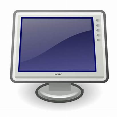 Clipart Display Computer Svg Icon Clip Monitor