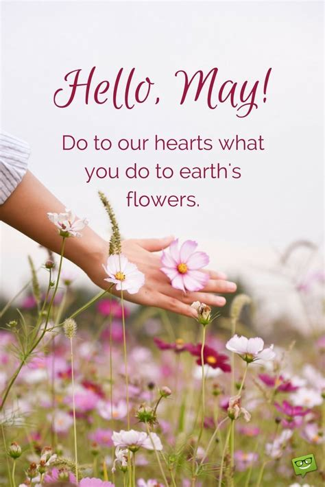 Month May May Quotes Inspirational