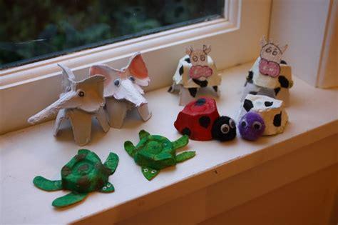 recycling egg cartons craft ideas