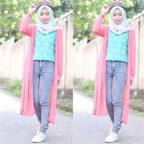 outfit  pantai   berhijab