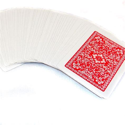 jumbo plastic coated playing cards ships   deals