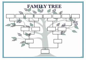 blank family tree template 31 free word pdf documents With family tree diagram template microsoft word