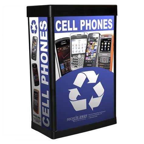 recycle phones for ergocan recycling container for cell phones 20 gallon