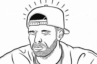 Drake Coloring Pages Snoop Dogg Rapper Star
