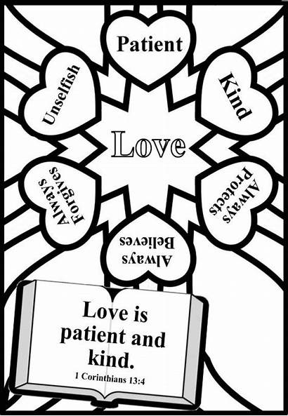 Valentine Coloring Sunday Valentines Pages Bible Crafts