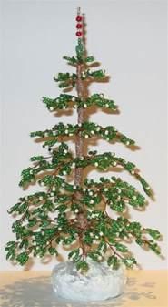french beaded christmas tree handmade ebay