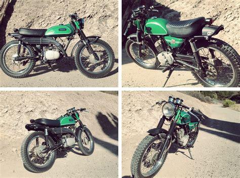 Vintage Enduro Motorcycle