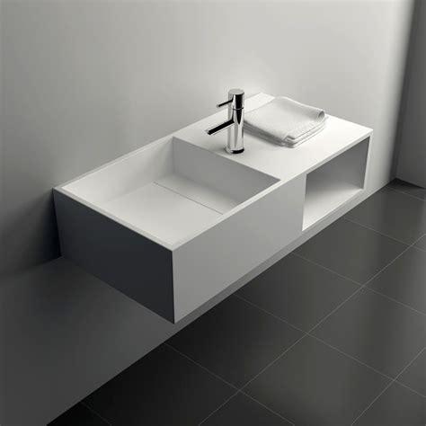 lavabo bol salle de bain meuble salle de bain supsendu 80x40 cm mati 232 re composite mineral