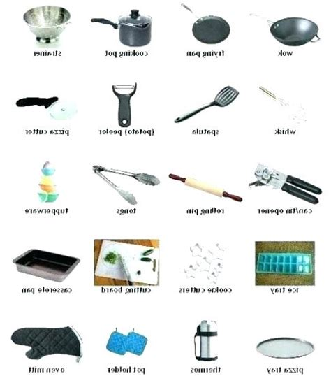 Kitchen Equipment Names And Uses kitchen tools and utensils names their uses besto
