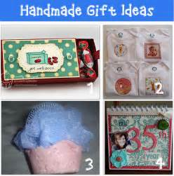 Homemade Birthday Gift Ideas