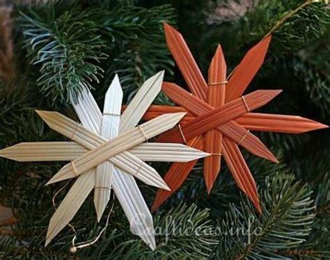 natural straw star diy ornaments allfreechristmascraftscom