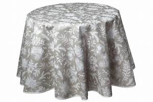 Tischdecke Rund 180 : elegante tischdecke rund 180 cm ilex natur pflegeleicht ~ Eleganceandgraceweddings.com Haus und Dekorationen