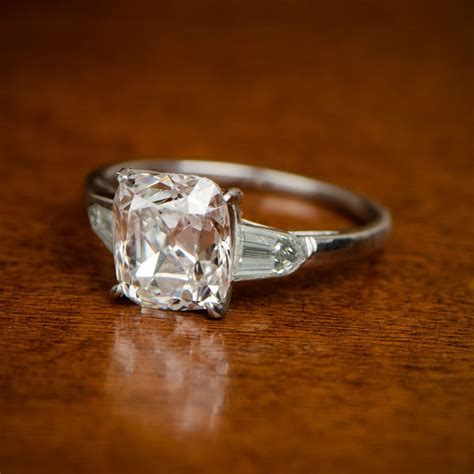 The York Ring  Cushion Cut, Engagement And Diamond