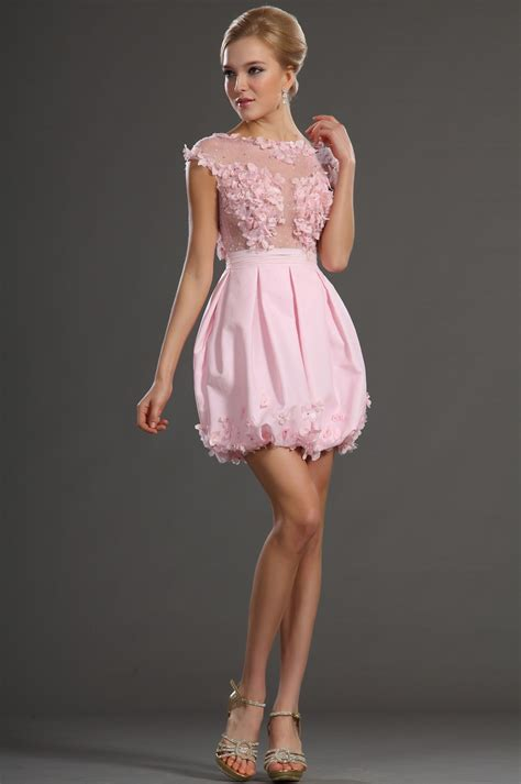 Pink Cocktail Dress Dresscab