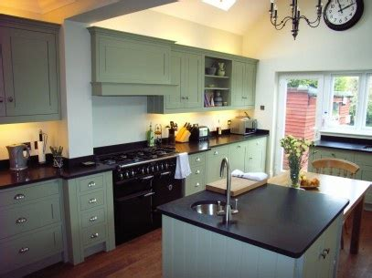 the kitchen designs a bespoke hardwood kitchen finished in farrow s 6082