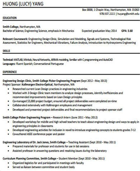 Technology Skills Resume Exles by Sle Technical Skills Resume 10 Exles In Word Pdf