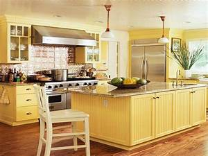 Yellow Kitchens Yellow Kitchen Design Pale Yellow Kitchen