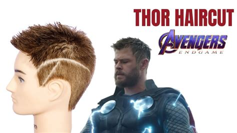 Thor Avengers Endgame Haircut Tutorial Thesalonguy