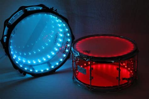 drum set lights drumlite kits for acrylic and hybrid drums
