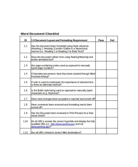 client list template   word  documents