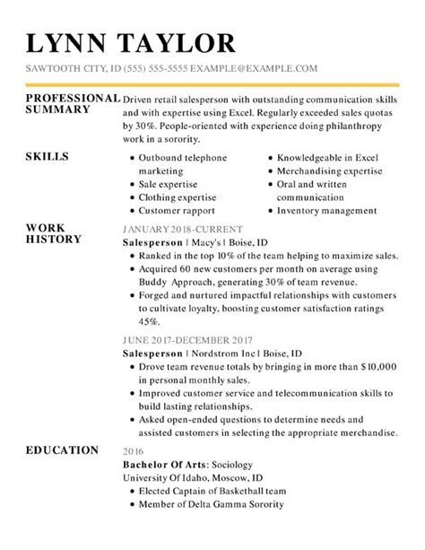 Format Of Functional Resume by The 3 Resume Formats A Guide On Which Format To Use When