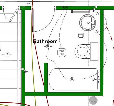 Typical Bathroom Electrical Layout it helps to design your new bathroom layout before you