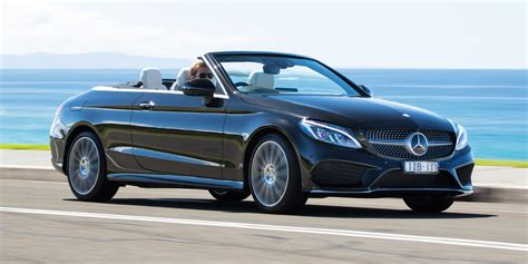 2017 Mercedesbenz Cclass Cabriolet Review Photos