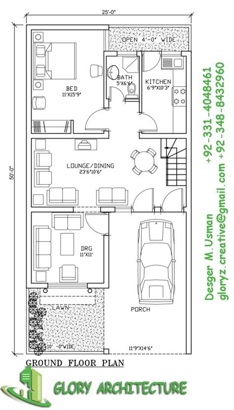 house plan marla house plan glory architecture